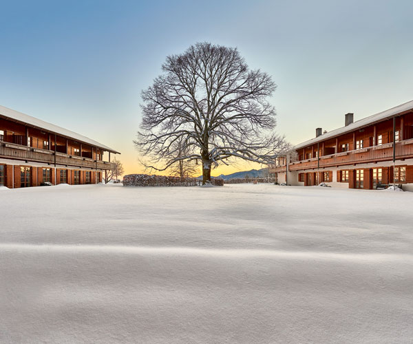 Winter Margarethenhof Tegernsee